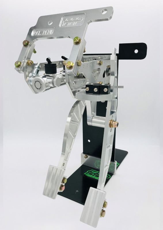 Pedal Assembly with Brake & Throttle