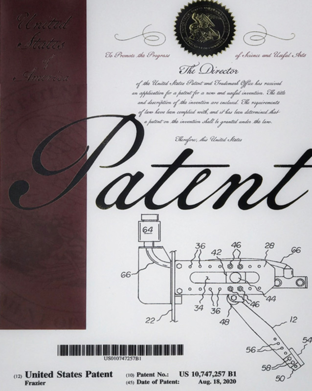Patent for Pedal Assembly